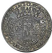 1 thaler Friedrich II Johann Wilhelm (Allégeance de Gotha) – revers