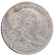 4 groschen Friedrich III (Paix d' Augsbourg) – avers