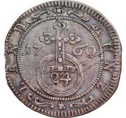 1/24 Thaler, 1 Groschen - Ernst Friedrich III Carl – revers