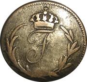 6 kreuzer Friedrich I – avers