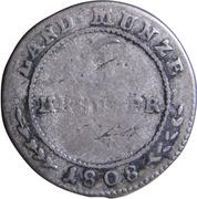 6 Kreuzer - Friedrich I – revers