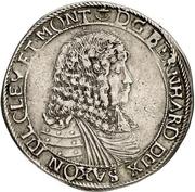 ⅔ Thaler - Bernhard II – avers