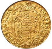 5 ducat Bernhard II – revers