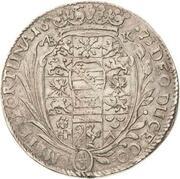 ⅓ Thaler - Bernhard II – revers