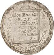 1/2 Thaler - Johann Wilhelm – revers