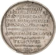 1 Thaler - Johann Wilhelm – revers