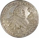 2 thaler Franz II (Mort de Franz II) – avers