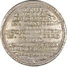 2 thaler Franz II (Mort de Franz II) – revers