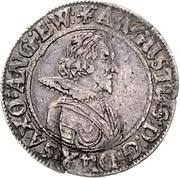 ¼ Thaler - August II. – avers