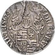 ¼ Thaler - August II. – revers