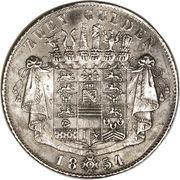 2 gulden - Bernhard II – revers