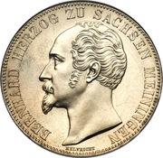 2 Thaler / 3½ Gulden - Bernhard II – avers