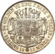 2 Thaler / 3½ Gulden - Bernhard II – revers
