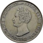 1 gulden Bernhard II – avers