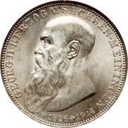 3 Mark - Georg II – avers