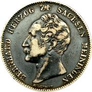 ½ gulden Bernhard II – avers