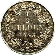 ½ gulden Bernhard II – revers