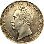 1 gulden Bernard II – avers