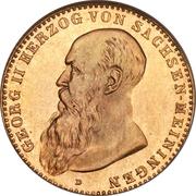 10 Mark - Georg II – avers