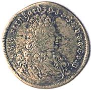2 groschen Bernhard I. (Mort) – avers