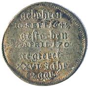 2 groschen Bernhard I. (Mort) – revers