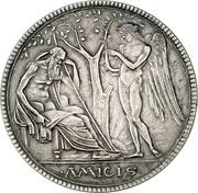 5 Mark - Georg II. – revers
