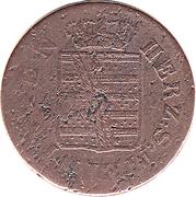 2 pfennig Bernhard II – avers