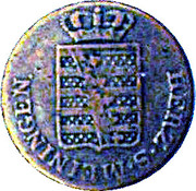 1 Kreuzer - Bernhard II – avers