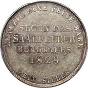 1 Gulden - Bernhard II – revers