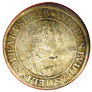 1/12 thaler (Marriage) – avers