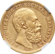 20 Mark - Georg II -  avers