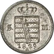 1 kreuzer Bernhard II – avers