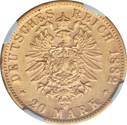 20 Mark - Georg II -  revers