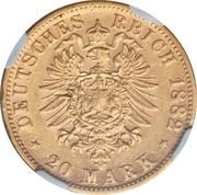 20 Mark - Georg II – revers