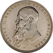 5 Mark - Georg II – avers