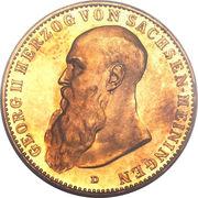 20 Mark - Georg II -  avers