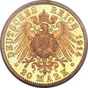 20 Mark - Georg II -  revers