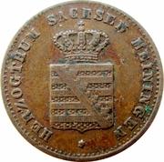 1 Pfennig - Georg II – avers