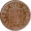 ½ Kreuzer - Bernhard II – avers