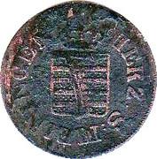 1 Pfennig - Bernhard II – avers