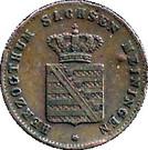¼ Kreuzer - Bernhard II – avers