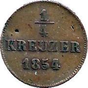 ¼ Kreuzer - Bernhard II – revers