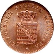 2 Pfennige - Bernhard II – avers