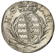 1 Kreuzer - Georg I. Friedrich Carl – avers