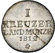 1 kreuzer Bernhard Erich Freund – revers
