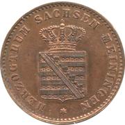 2 Pfennige - Georg II – avers