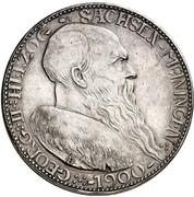 5 mark Georg II – avers