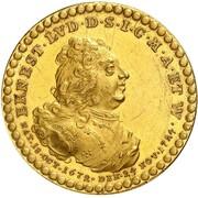 5 ducat Ernst Ludwig (Mort) – avers