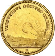 5 ducat Ernst Ludwig (Mort) – revers