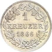 1 Kreuzer - Bernhard II – revers
